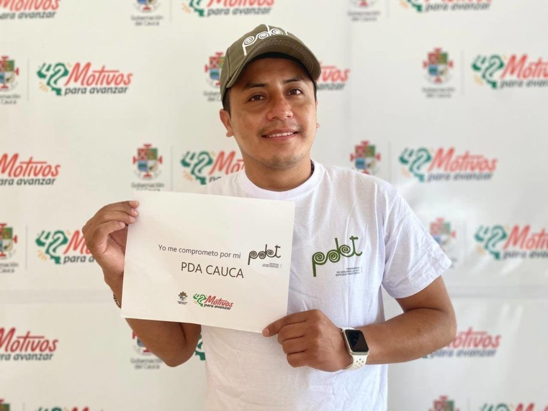 Gerente de EMCASERVICIOS Julián Andrés Muñoz imbachí
